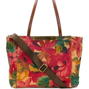 PRICE FIRM NWT Patricia nash Canvas XL Travel tote